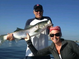 Wells Maine Striper Fishing Charter, Breton's Fishing Charters