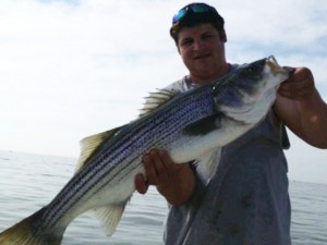 Wells Maine Striper Fishing, Striped Bass Fishing Charter, Breton's Charters, Fishing and Fly Fishing Charters for Stripers and Bluefish in Wells Maine